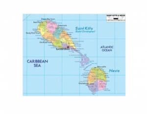 Map_of_St_Kitts_Nevis-450x350-300x233 St Kitts meets IMF target early